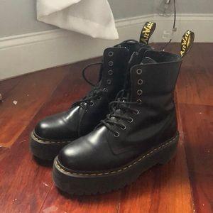 Doc martens jadon boots size 8
